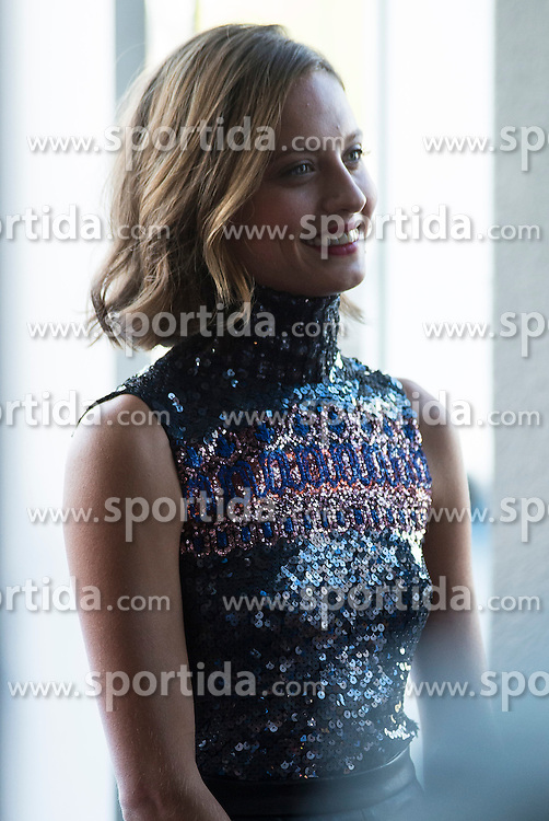 26.08.2015, Kinepolis Cinema, Madrid, ESP, Atrapa la Bandera, Premiere, im Bild Spanish actress Michelle Jenner attends to the photocall // during the premiere of spanish cartoon 'Capture The Flag&quot; at the Kinepolis Cinema in Madrid, Spain on 2015/08/26. EXPA Pictures &copy; 2015, PhotoCredit: EXPA/ Alterphotos/ BorjaB.hojas<br /> <br /> *****ATTENTION - OUT of ESP, SUI*****