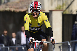 March 15, 2019 - Brignoles, France - BRIGNOLES, FRANCE - MARCH 15 : KWIATKOWSKI Michal (POL) of TEAM SKY pictured during stage 6 of the 2019 Paris - Nice cycling race with start in Peynier and finish in Brignoles  (176,5 km) on March 15, 2019 in Brignoles, France. (Credit Image: © Panoramic via ZUMA Press)