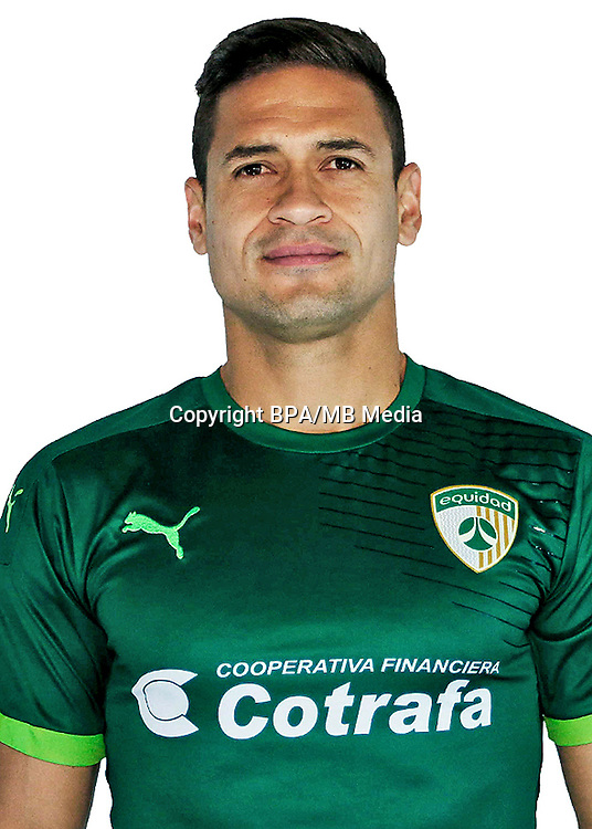 Colombia League - Liga Aguila 2016-2017 / <br /> Club Deportivo La Equidad - Colombia - <br /> Jhon Alex Cano