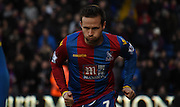 Yohan Cabaye in action during the Barclays Premier League match between Crystal Palace and Tottenham Hotspur at Selhurst Park, London, England on 23 January 2016. Photo by Michael Hulf.