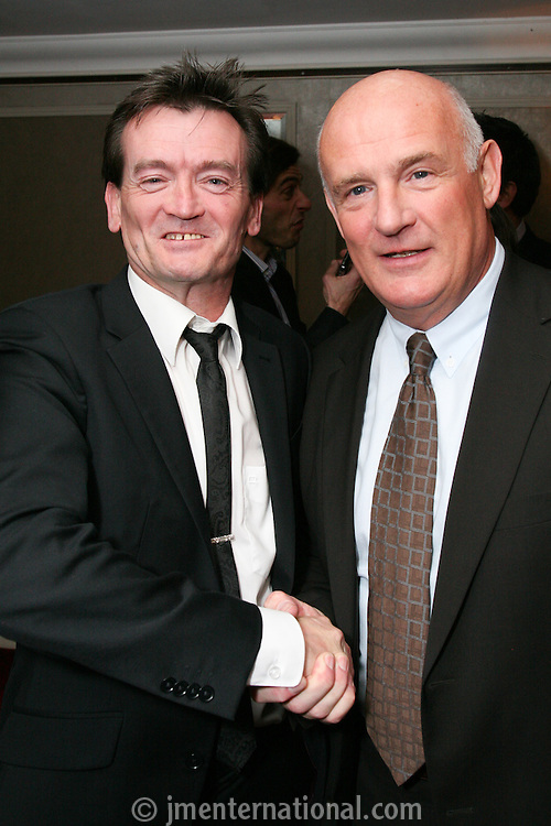 Feargal Sharkey and Eric Nicoli