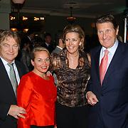Kerstborrel Princess 2004, Paul Fagele en partner, Peter Post en partner