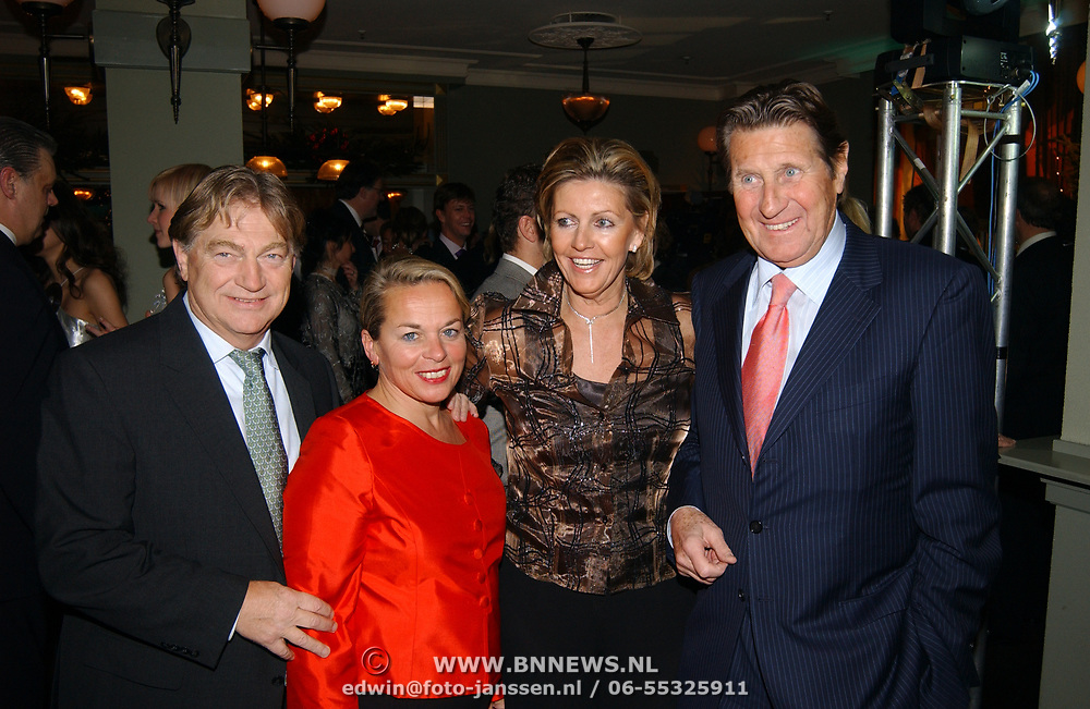 Kerstborrel Princess 2004, Paul Fagele en partner, Peter Post en partner