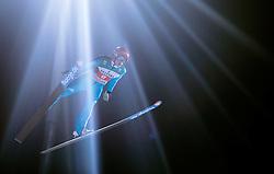 06.01.2015, Paul Ausserleitner Schanze, Bischofshofen, AUT, FIS Ski Sprung Weltcup, 63. Vierschanzentournee, Finale, im Bild Richard Freitag (GER) // Richard Freitag of Germany during Final Jump of 63rd Four Hills <br /> Tournament of FIS Ski Jumping World Cup at the Paul Ausserleitner Schanze, Bischofshofen, Austria on 2015/01/06. EXPA Pictures © 2015, PhotoCredit: EXPA/ JFK