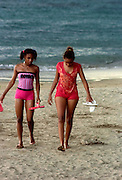 Jakes Hotel - Local girls on Teasure Beach - Jamaica