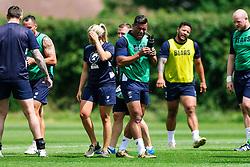 Siale Piutau looks on during week 1 of Bristol Bears pre-season training ahead of the 19/20 Gallagher Premiership season - Rogan/JMP - 03/07/2019 - RUGBY UNION - Clifton Rugby Club - Bristol, England.