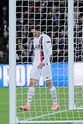Edinson Roberto Paulo Cavani Gomez (El Matador) (El Botilja) (Florestan) (PSG) disappointed after missed to score during the UEFA Champions League, Group A football match between Paris Saint-Germain and Club Brugge on November 6, 2019 at Parc des Princes stadium in Paris, France - Photo Stephane Allaman / ProSportsImages / DPPI