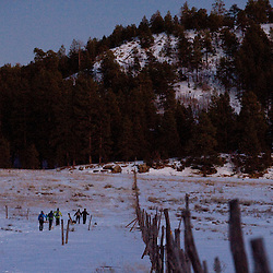 Cross-country skiing the Zuni Mountains of western New Mexico