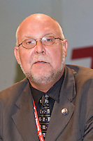 Bill Greenshields, NUT President, speaking at the TUC Conference 2008...© Martin Jenkinson, tel 0114 258 6808 mobile 07831 189363 email martin@pressphotos.co.uk. Copyright Designs & Patents Act 1988, moral rights asserted credit required. No part of this photo to be stored, reproduced, manipulated or transmitted to third parties by any means without prior written permission