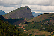 Irupi_ES, Brasil...Vista panoramica ao lado de trecho da Rota Imperial...The panoramic view of next to the Imperial route...Foto: LEO DRUMOND / NITRO