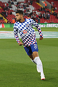 33 Emerson for Chelsea FC during the EFL Cup match between Liverpool and Chelsea at Anfield, Liverpool, England on 26 September 2018.