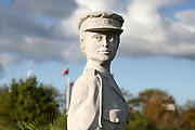 The Women's Auxiliary Army and Auxiliary Territorial Army Memorial at the National Memorial Arboretum, Croxall Road, Alrewas, Burton-On-Trent,  Staffordshire, on 29 October 2018. Picture by Mick Haynes.