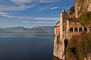 famous convent at the Lake Maggiore