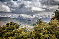 Views whilst crossing the High Atlas Mountains, Morocco.