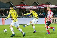 ROTTERDAM - Sparta Rotterdam - Vitesse , Voetbal , Halve Finale KNVB Beker , Seizoen 2016/2017 , Sparta stadion het Kasteel , 01-03-2017 ,  eindstand 1-2 , Vitesse speler Lewis Baker (m) scoort de 0-2