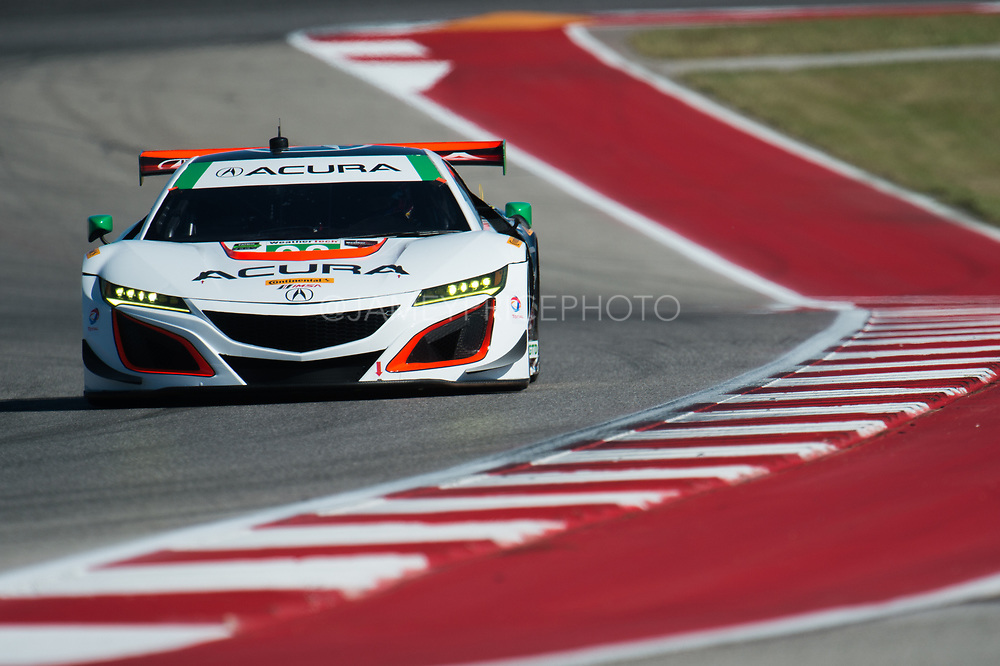 May 4-6, 2017: IMSA Sportscar Showdown at Circuit of the Americas. Michael Shank Racing, Acura NSX GT3, Andy Lally, Katherine Legge, Mark Wilkins