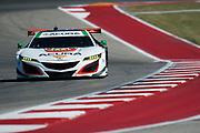 May 4-6, 2017: IMSA Sportscar Showdown at Circuit of the Americas. Michael Shank Racing, Acura NSX GT3, Andy Lally, Katherine Legge, Mark Wilkins