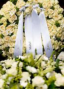 Kransen op het graf van prins Friso na de uitvaartdienst in de Stulpkerk in Lage Vuursche EDITORIAL USE ONLY<br /> <br /> Kransen op het graf van prins Friso na de uitvaartdienst in de Stulpkerk in Lage Vuursche EDITORIAL USE ONLY