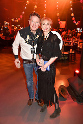 Orlando Fraser and Clementine Fraser at the Save The Children's Night of Country at The Roundhouse, London England. 2 March 2017.