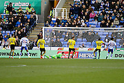 Reading's Danny Williams (23) scores and celebrates, making the score 2-0 to Reading, during the EFL Sky Bet Championship match between Reading and Burton Albion at the Madejski Stadium, Reading, England on 19 November 2016. Photo by Richard Holmes.