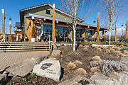 First Nations owned Lelem Arts & Cultural Cafe in Fort Langley, British Columbia.