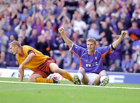 Fotball: Rangers v Motherwell 3-0, Scottish Premier League<br />