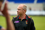 Bradford Bulls coach Geoff Toovey  during the Kingstone Press Championship match between Oldham RLFC and Bradford Bulls at Bower Fold, Oldham, United Kingdom on 13 August 2017. Photo by Simon Davies.