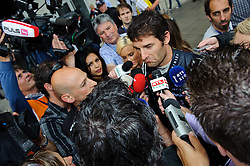14.05.2011, Red Bull Ring, Spielberg, AUT, RED BULL RING, SPIELBERG, EROEFFNUNG, im Bild Mark Webber, (Red Bull Racing) // during the official Opening for the Red Bull Circuit in Spielberg, Austria, 2011/05/14, EXPA Pictures © 2011, PhotoCredit: EXPA/ S. Zangrando