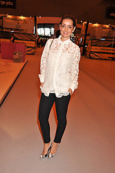 LOUISE REDKNAPP at the Graduate Fashion Week Gala drinks reception held at Earls Court 2, London on 13th June 2012.