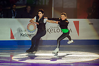 KELOWNA, BC - OCTOBER 24:  Ice Dance competitors Marjorie Lajoie and Zachary Lagha of Canada perform during the gala of Skate Canada International at Prospera Place on October 24, 2019 in Kelowna, Canada. (Photo by Marissa Baecker/Shoot the Breeze)