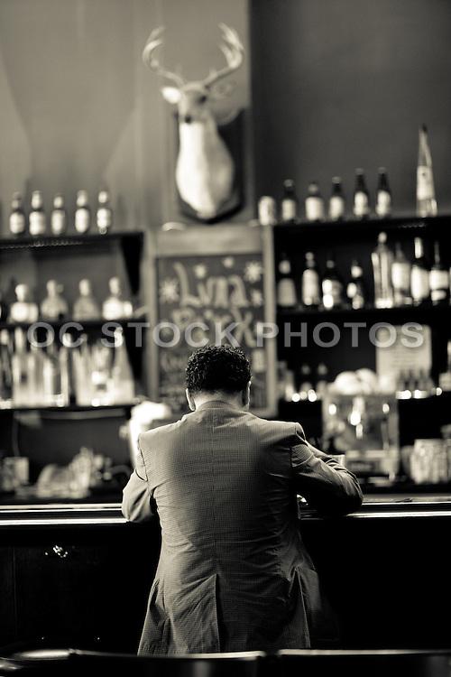 Single Man At The Bar