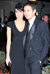 © Licensed to London News Pictures. 19/12/2011. London, England. Christine Bleakley and Frank Lampard attends a Night Of Heros , the Sun Military Awards 2011 held on Monday 19th Dec at the Imperial War Museum London . the awards will be televised on Wed 21st December 2011 .  Photo credit : ALAN ROXBOROUGH/LNP