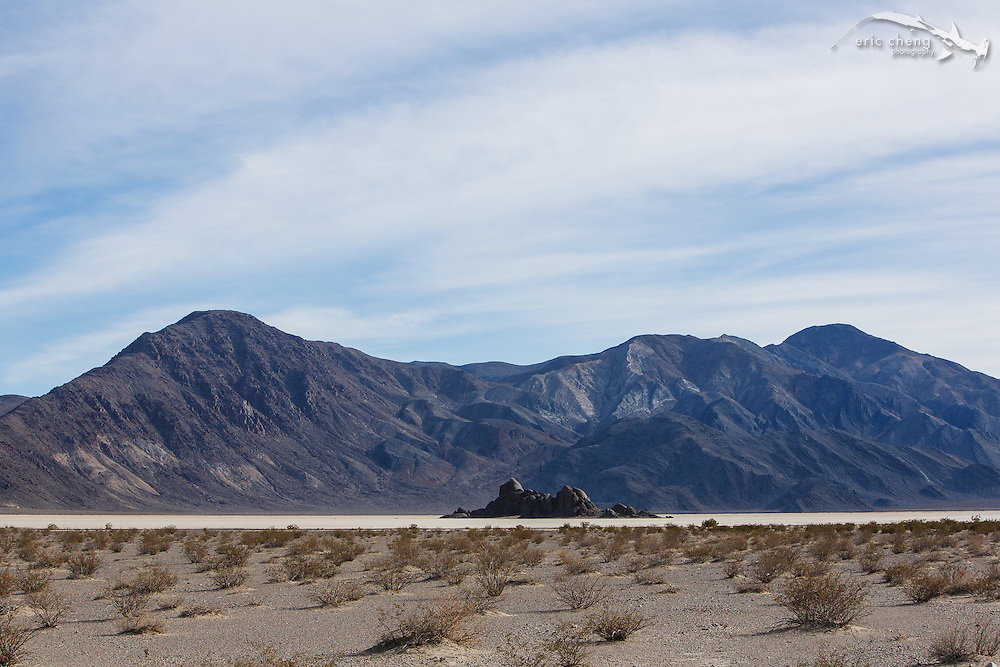 The Grandstand at the Racetrack, Death Valley, California.