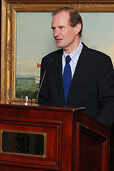 David Boies speaking at the reception for Hank Greenberg at 21 Club NYC 18 Sept 2007 Honoring the endowment of the David Boies Professorship of Law at The Yale Law School.