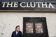 The owner of The Clutha bar Alan Crossan visits the Clutha Vaults as the first year anniversary of the disaster approaches. it is still unclear what caused the engine failure that led to a Police Scotland helicopter to crash into the roof of the pub killing ten people.
