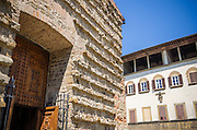 Entrance to Basilica di San Lorenzo, Florence, Tuscany, Italy