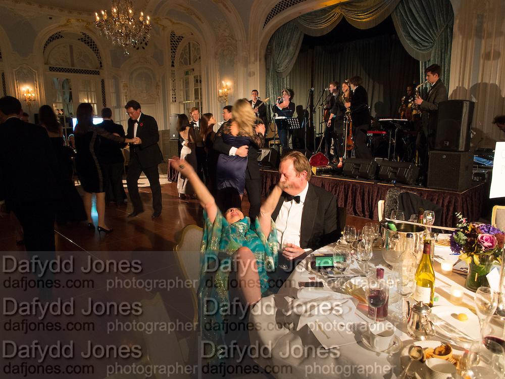 ALICE SIDLEY; RICHARD ROYDEN, Game & Wildlife Conservation Trust's Ball. Savoy Hotel. London. 6 November 2013.