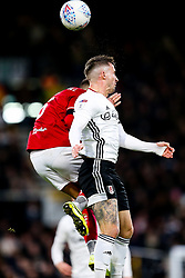 Josh Brownhill of Bristol City anf Joe Bryan of Fulham - Rogan/JMP - 07/12/2019 - Craven Cottage - London, England - Fulham v Bristol City - Sky Bet Championship.