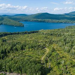 43.48060, -71.15279. Birch Ridge location E. New Durham, New Hampshire. Merrymeeting Lake.