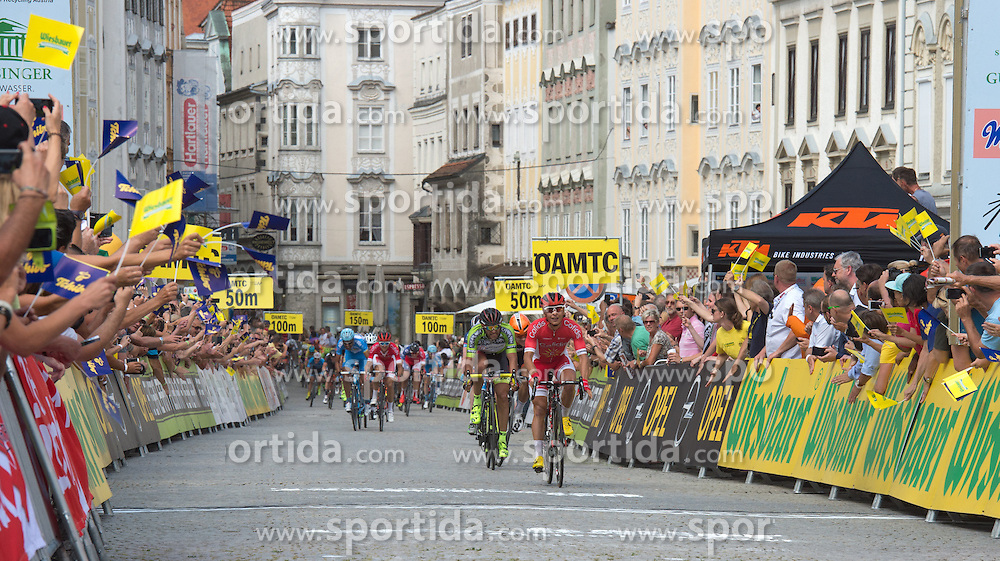 04.07.2016, Steyr, AUT, Ö-Tour, Österreich Radrundfahrt, 2. Etappe, Mondsee nach Steyr, im Bild Clement Venturini (FRA, Cofidis, Solution Credits) // during the Tour of Austria, 2nd Stage from Mondsee to Steyr, Austria on 2016/07/04. EXPA Pictures © 2016, PhotoCredit: EXPA/ Reinhard Eisenbauer