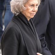LUX/Luxemburg/20190504 - Funeral of HRH Grand Duke Jean/Uitvaart Groothertog Jean, Koningin Sofia van Spanje
