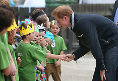 Stewart Island-Prince Harry visits Half Moon Bay School