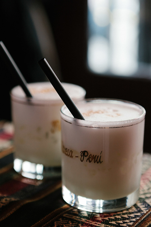 Pisco Sours at the Dimension Latina restaurant