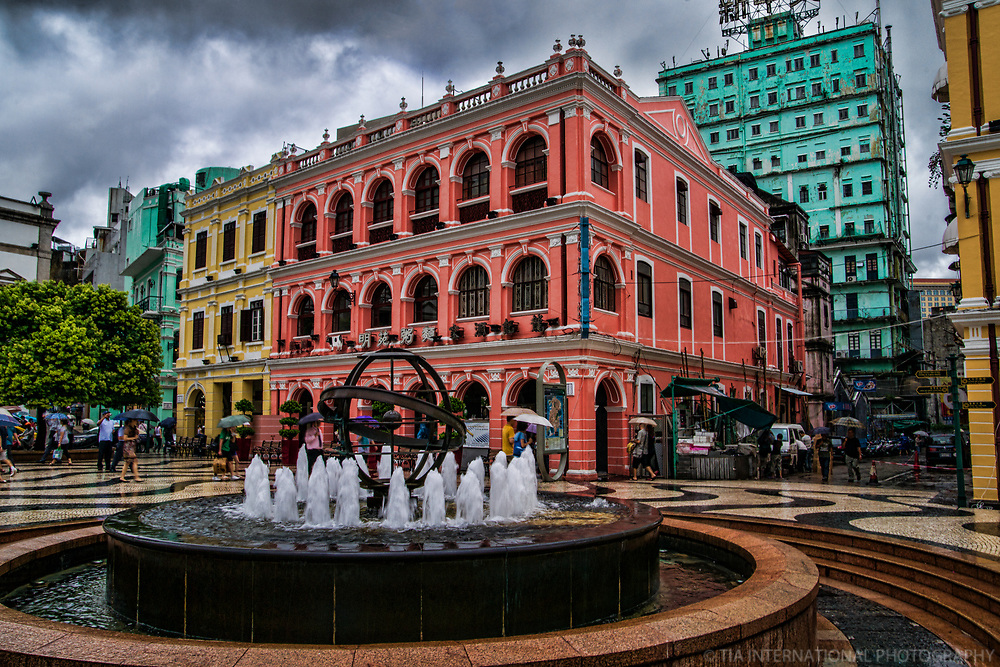 Pastel Colors of Senado Square