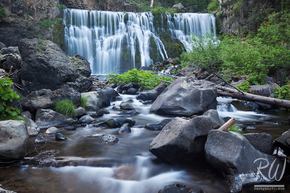 Middle McCloud Falls, Shasta-Trinity National Forest, California