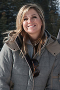 Fotosessie met de koninklijke familie in Lech /// Photoshoot with the Dutch royal family in Lech .<br /> <br /> Op de foto/ On the photo: Koningin Maxima r ///// Queen Maxima