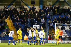 Bristol Rovers fans - Mandatory by-line: Matt McNulty/JMP - 14/03/2017 - FOOTBALL - Gigg Lane - Bury, England - Bury v Bristol Rovers - Sky Bet League One