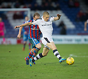 Dundee's Henrik Ojamaa goes past Inverness' Carl Tremarco - Inverness Caledonian Thistle v Dundee in the Ladbrokes Scottish Premiership at Caledonian Stadium, Inverness.Photo: David Young<br /> <br />  - © David Young - www.davidyoungphoto.co.uk - email: davidyoungphoto@gmail.com
