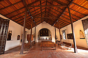 Interior of the Porta Coeli Church or Heaven's Gate in San German Puerto Rico