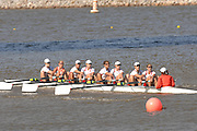 Oklahoma, USA,   Sunday Morning,  Women's Championship Eights,  CAN W8+,  Canada's women's eight, competing in the Head of the Oklahoma The Oklahoma River, Oklahoma City,  Sat. 14/10/2007 [Mandatory Credit. Peter Spurrier/Intersport Images]..... , Rowing Course: Oklahoma River, Oklahoma City, Oklahoma, USA